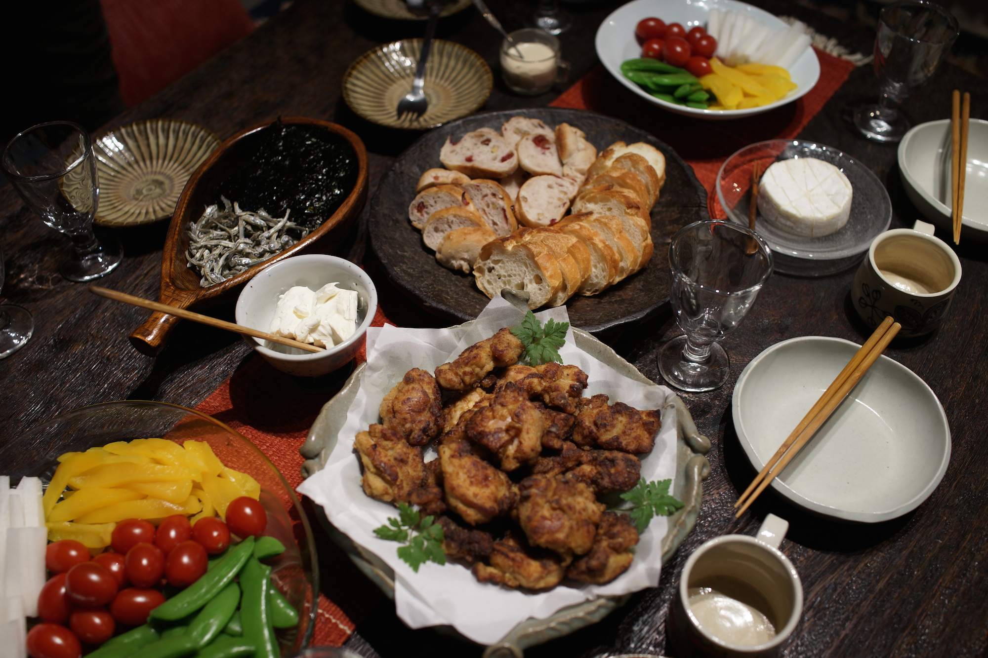Japanese Style Home Party