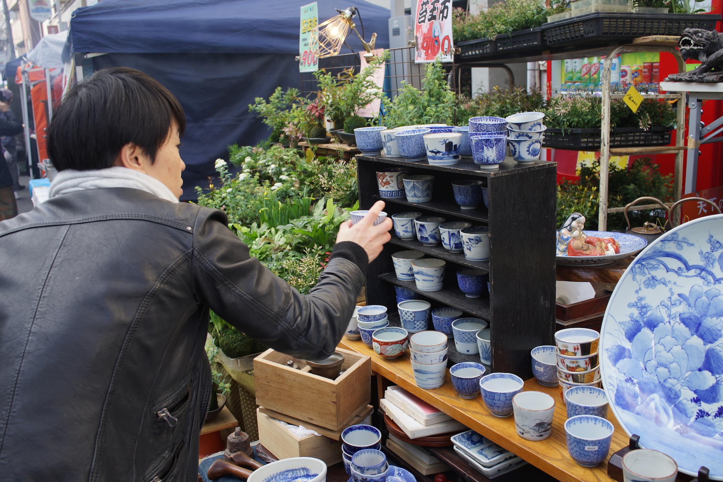 Winter flea Market in Tokyo – Setagaya Boroichi